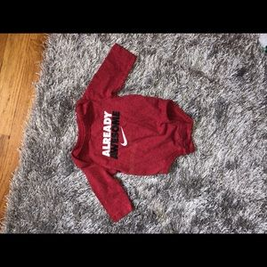 Nike baby boy onesie!
